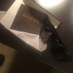 Gucci women's sunglasses. Hardly worn.
